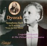 DVORAK - Stokowski - Symphonie n°9 en mi mineur op.95 B.178 'Du Nouveau