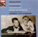 PROKOFIEV - Karajan - Pierre et le loup, conte symphonique pour enfants en allemand