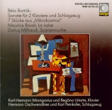BARTOK - Mrongovius - Sonate pour 2 pianos et percussions Sz.110