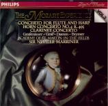 MOZART - Marriner - Concerto pour flûte, harpe et orchestre en do majeur