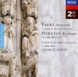Requiem et autres pièces religieuses