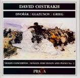 DVORAK - Oistrakh - Concerto pour violon op.53