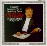 MOZART - Hogwood - Symphonie n°25 en sol mineur K.183 (K6.173dB)