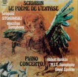 SCRIABINE - Epstein - Poème de l'extase op.54