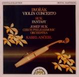 DVORAK - Suk - Concerto pour violon op.53
