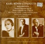 BEETHOVEN - Böhm - Concerto pour violon op.61