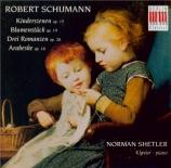 SCHUMANN - Shetler - Kinderszenen (Scènes d'enfants), treize pièces pour