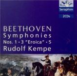 BEETHOVEN - Kempe - Symphonie n°1 op.21