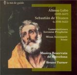LOBO - Musica Reservat - Lamentationes Ieremiae Prophetae