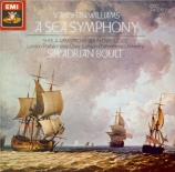 VAUGHAN WILLIAM - Boult - Symphonie n°1 'A Sea Symphony'