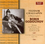MOUSSORGSKY - Chaliapine - Boris Godounov : extraits