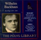 MOZART - Backhaus - Concerto pour piano et orchestre n°26 en ré majeur K