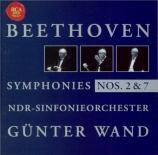 BEETHOVEN - Wand - Symphonie n°2 op.36
