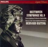 BEETHOVEN - Haitink - Symphonie n°9 op.125 'Ode à la joie'
