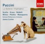 PUCCINI - Levine - La Bohème : extraits