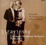 STRAVINSKY - Järvi - Pétrouchka : suite pour orchestre