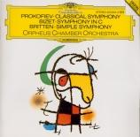 PROKOFIEV - Orpheus Chamber - Symphonie n°1 en ré majeur op.25 'Symphoni