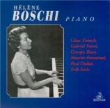 FRANCK - Boschi - Prélude, choral et fugue, pour piano en si mineur FWV
