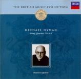 NYMAN - Balanescu Quart - Quatuor à cordes n°1