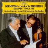 BERNSTEIN - Bernstein - Serenade pour violon, orchestre à cordes, harpe