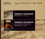 GOLDMANN - Kegel - Symphonie n°1