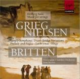 GRIEG - Brown - Holberg suite op.40 : version pour piano