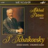 TCHAIKOVSKY - Pletnev - Grande sonate, pour piano en sol majeur op.37
