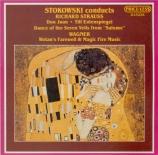 STRAUSS - Stokowski - Don Juan, pour grand orchestre op.20