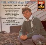 BRITTEN - Mackie - Serenade, cycle de mélodies pour ténor, cor et cordes