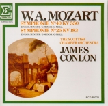 MOZART - Conlon - Symphonie n°40 en sol mineur K.550
