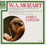 MOZART - Conlon - Symphonie n°41 en do majeur K.551 'Jupiter'