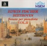 BEETHOVEN - Fischer - Sonate pour piano n°7 op.10 n°3