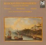 Concertos pour flûte à bec