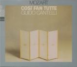 MOZART - Cantelli - Così fan tutte (Ainsi font-elles toutes), opéra bouf live Piccola Scala di Milano, 27 - 1 - 1956