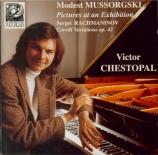 MOUSSORGSKY - Chestopal - Tableaux d'une exposition, pour piano