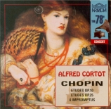 CHOPIN - Cortot - Études (12) pour piano op.10