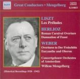 WEBER - Mengelberg - Der Freischütz : ouverture