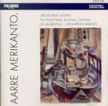 MERIKANTO - Segerstam - Fantaisie pour orchestre