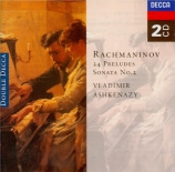 RACHMANINOV - Ashkenazy - Prélude pour piano en ut dièse mineur op.3 n°2