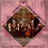 DVORAK - Stamitz Quartet - Quatuor à cordes n°10 en mi bémol majeur op.5