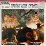 MILHAUD - Froment - Le boeuf sur le toit op.58
