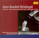 MOZART - Michelangeli - Concerto pour piano n°13 K.415