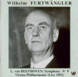 BEETHOVEN - Furtwängler - Symphonie n°9 op.125 'Ode à la joie' Live 3 - 2 - 1952