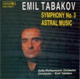 TABAKOV - Tabakov - Symphonie n°3