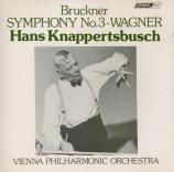 BRUCKNER - Knappertsbusch - Symphonie n°3 en ré mineur WAB 103 import Japon