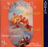 MOZART - Dalberto - Quintette pour piano, hautbois, clarinette, cor et b
