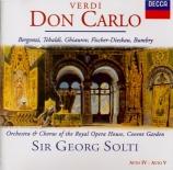VERDI - Solti - Don Carlo, opéra (version italienne) (sans livret) sans livret