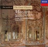 MOZART - Curzon - Concerto pour piano n°23 K.488