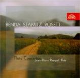 BENDA - Rampal - Concerto pour flûte en mi mineur