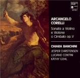 CORELLI - Banchini - Sonate pour violon op.5 n°1